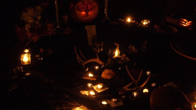 Photo from Samhain altar