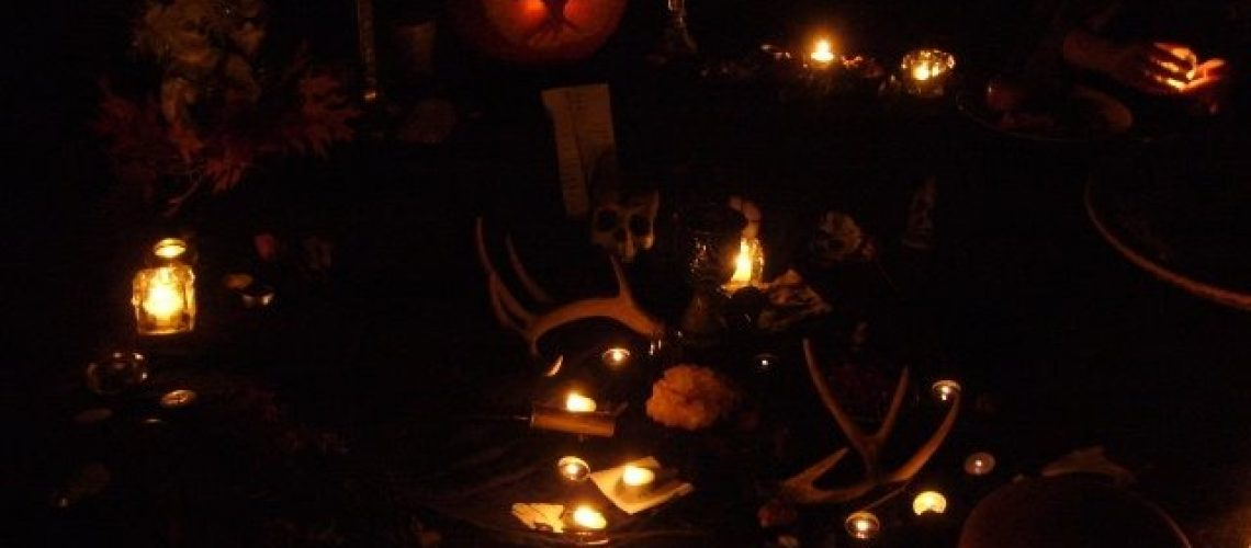 Photo from Samhain altar
